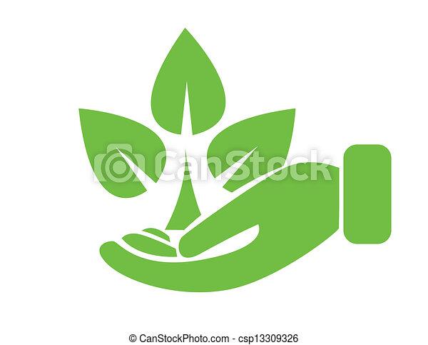 Protección ambiental - csp13309326