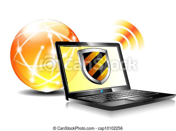 Antiviru de protección de Internet - csp10102256
