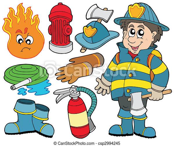 Colección de protección contra incendios - csp2994245