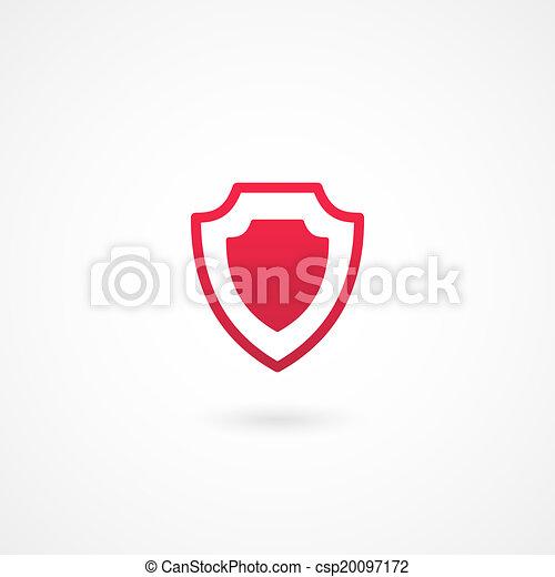 icono de protección - csp20097172