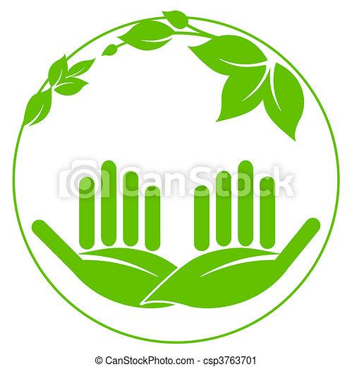 Protección natural y paisaje - csp3763701