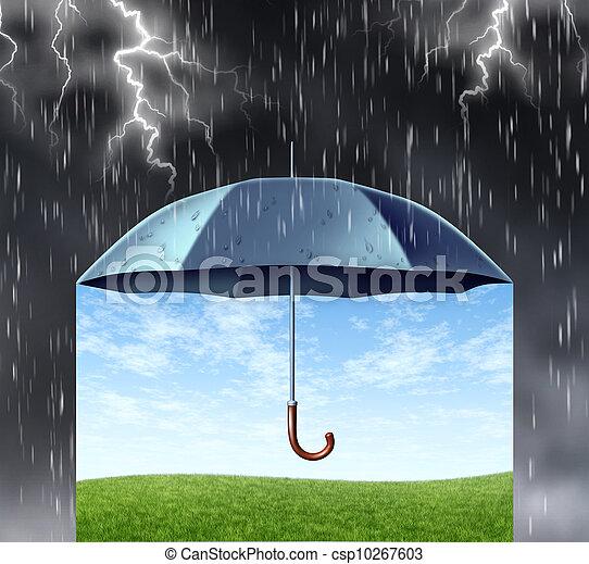 Protección de seguros - csp10267603