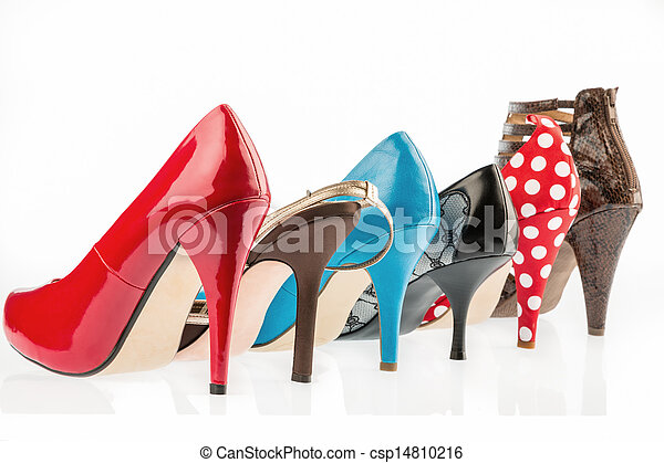 protect shoes with high heels - csp14810216