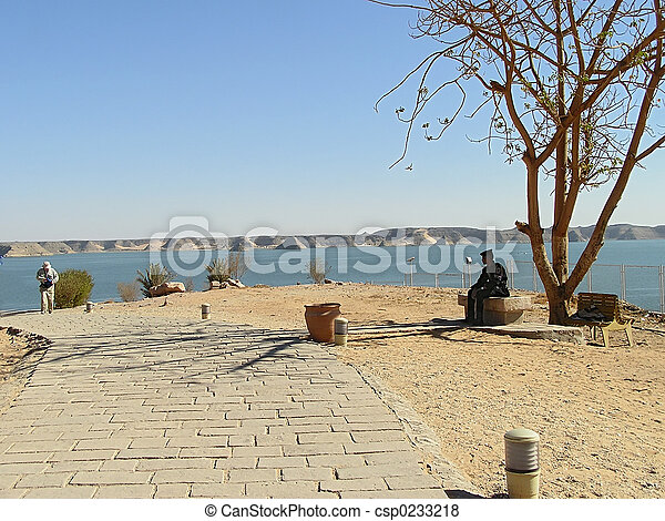 Protected area in Abu Simbel - csp0233218