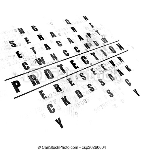 Protection concept: word Protection in solving Crossword Puzzle - csp30260604