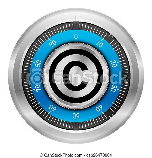 protection, droit d'auteur - csp26470064