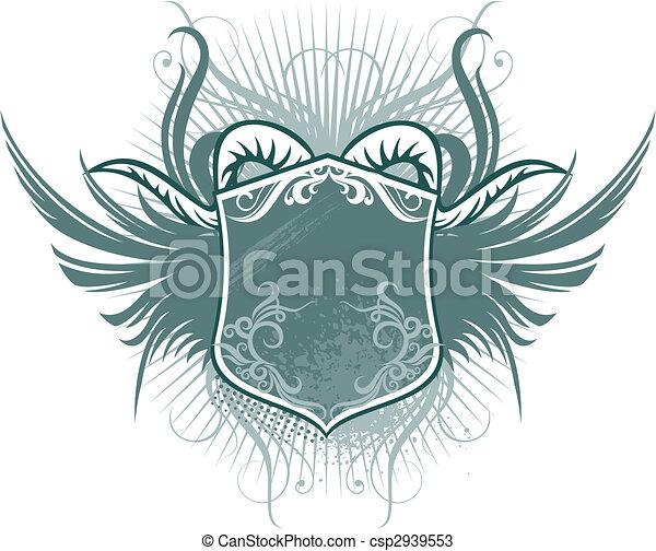 Escudo de cuerno - csp2939553
