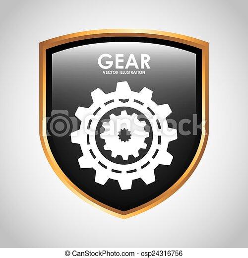 Diseño de escudos - csp24316756