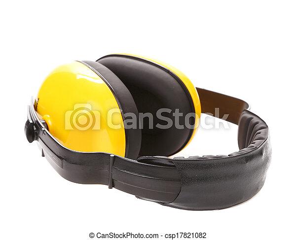 Mandíbulas protectoras amarillas. - csp17821082