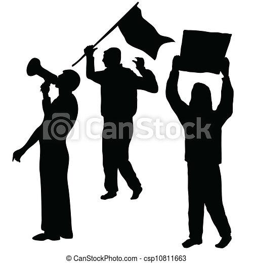Protest - csp10811663