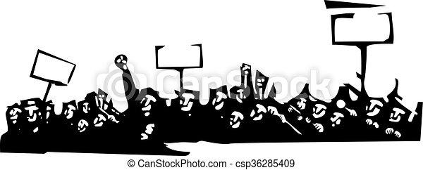 Protesta - csp36285409