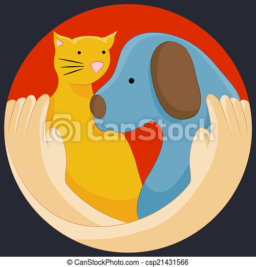 protezione, diritti animali - csp21431566