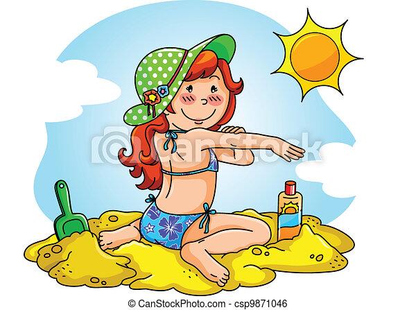 protezione sole - csp9871046