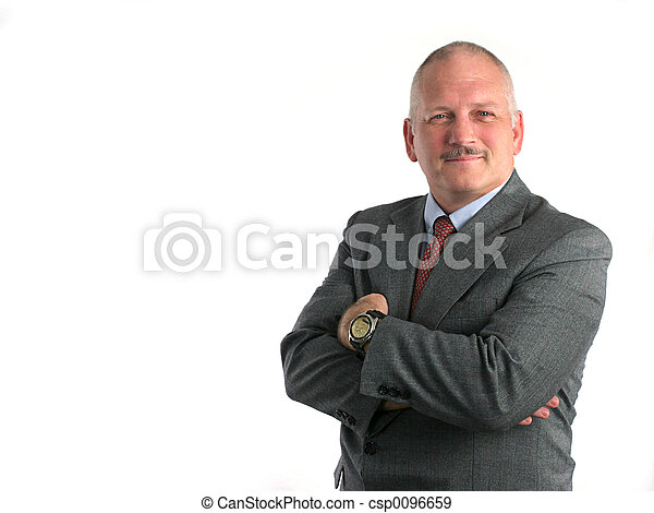 Proud Businessman - csp0096659