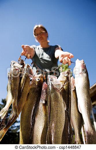 Proud Catch - csp1448847