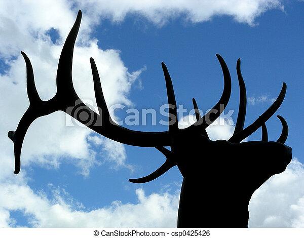 Proud Elk - csp0425426