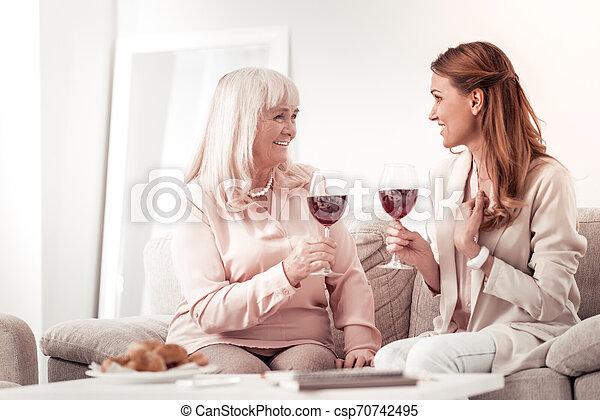 proverbe, femme, elle, positif, chevelu, bon, mère, nouvelles - csp70742495