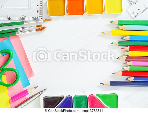 provviste, scuola - csp13763811