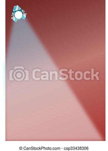 Un foco - csp33438306