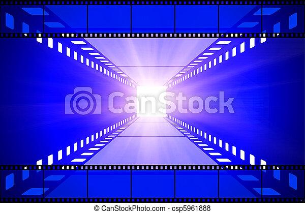 Proyector de cine y película - csp5961888