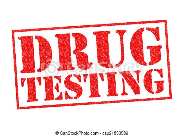 pruefen, droge - csp21833589