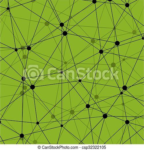przestrzeń, abstrakcyjny, nowoczesny, polygonal, tło., wektor - csp32322105