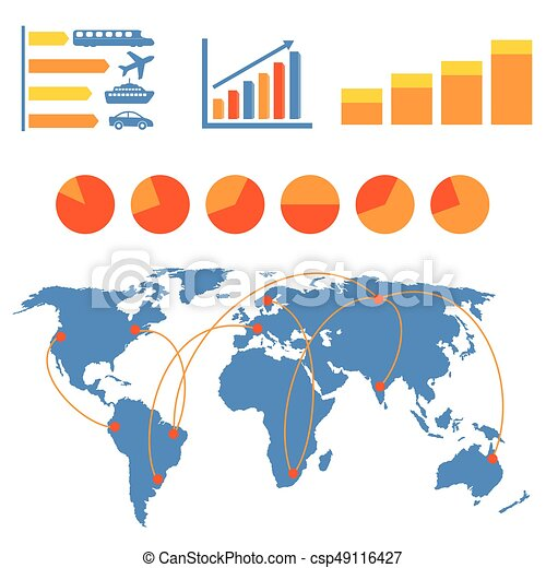 przewóz, infographics - csp49116427