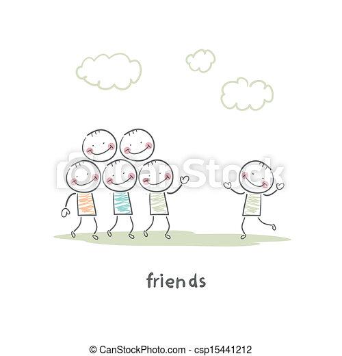 przyjaciele - csp15441212