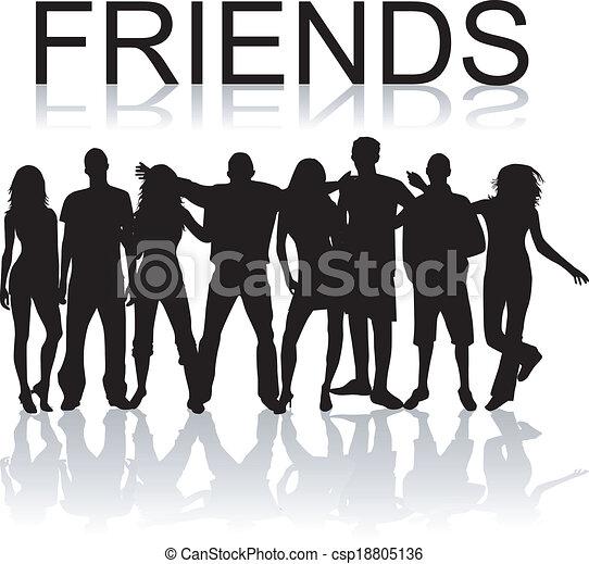 przyjaciele - csp18805136
