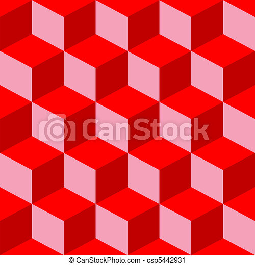 psychedelic pattern mixed red - csp5442931
