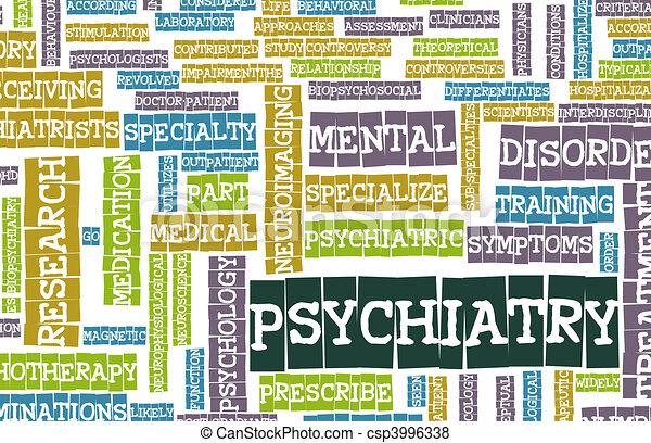 Psychiatry - csp3996338