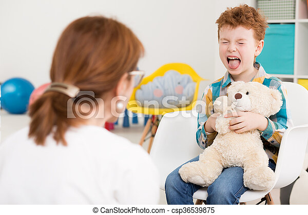 psychologist's, birichino, bambino - csp36539875