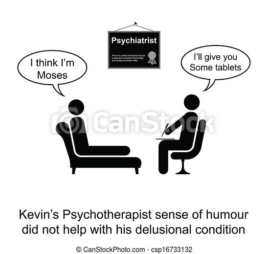 Psychotherapy Humour - csp16733132