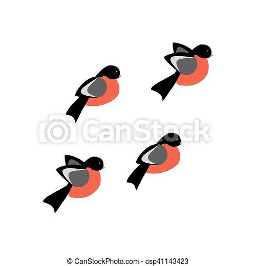 Ptak Ilustracja Gil Ilustracja Tło Wektor Biały Ptaszek Gil