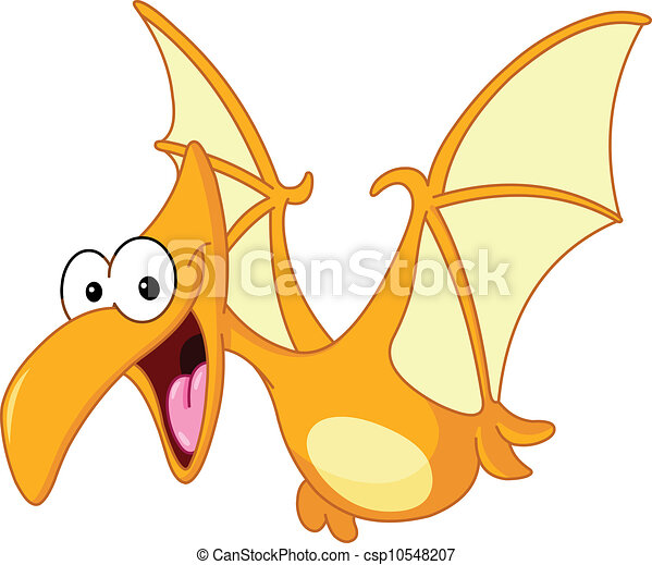 pterodactyl dinosaur flying vector clipart search illustration rh canstockphoto com Flying Dinosaurs Pterodactyl Cute Pterodactyl Drawing