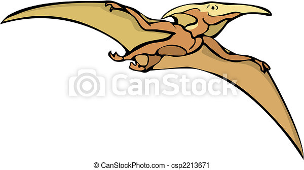 pterodactyl illustrations and clip art 1 388 pterodactyl royalty rh canstockphoto com Cute Pterodactyl Drawing Quetzalcoatlus and Pterodactyl Clip Art