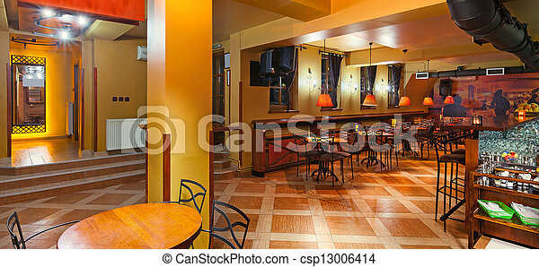 Pub interior - csp13006414