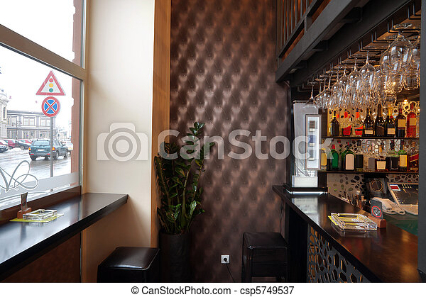 Pub interior - csp5749537
