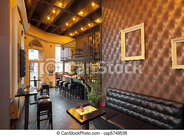 Pub interior - csp5749538