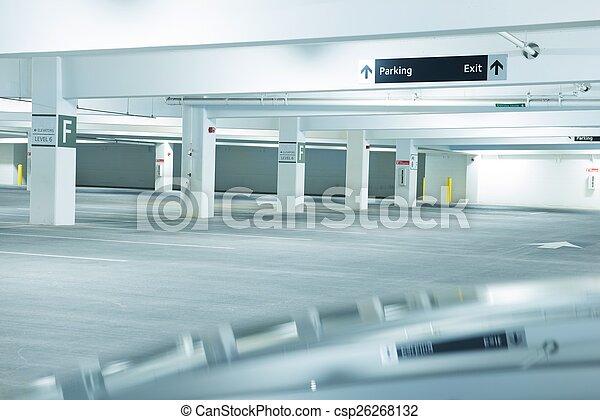 Public Parking Space - csp26268132