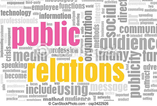 Public Relations - csp3422926