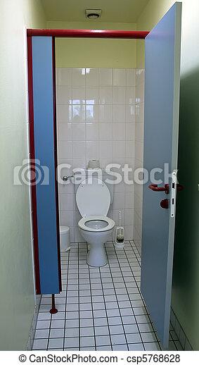 Public toilet. - csp5768628