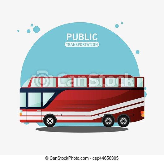 public transport vehicle travel - csp44656305