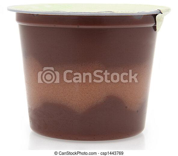 pudding de chocolate - csp1443769