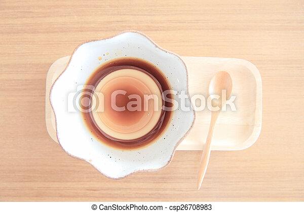 Pudding - csp26708983