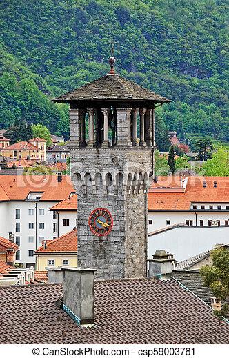 La vista de la vieja ciudad de Berna - csp59003781