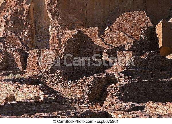 Pueblo Bonito, Chaco Canyon - csp8675901