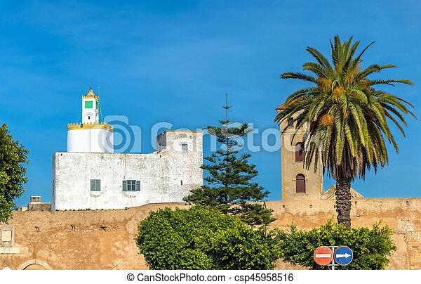 Cityscape de la ciudad de El Jadida en Marruecos - csp45958516