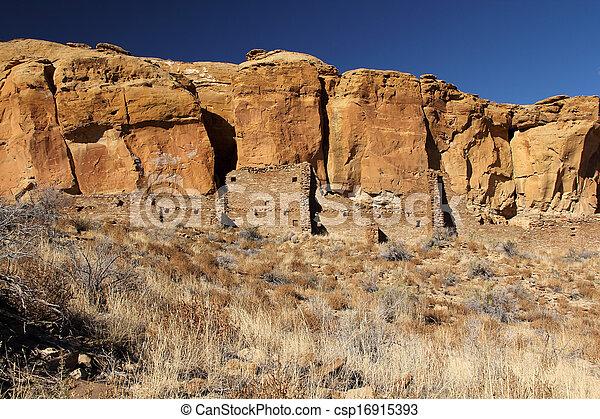 Pueblo Ruins - csp16915393
