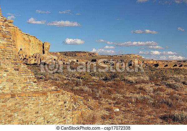 Pueblo Ruins - csp17072338